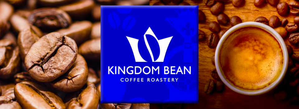 kingdom bean, coffee, banner, roastery, kbcr